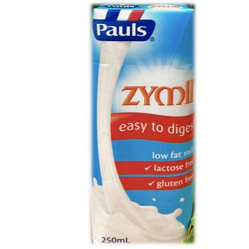 Sữa tươi Paul Zymil ít béo, Lactose Free hộp 250ml