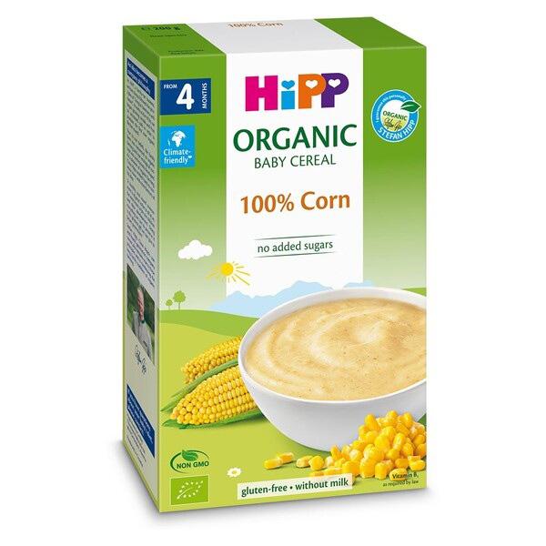 Bột HiPP Organic ngũ cốc bắp non Baby's First Corn