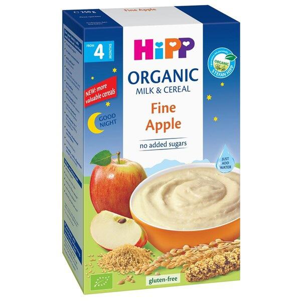 Bột ăn dặm Hipp chúc ngủ ngon táo tây Fine Apple