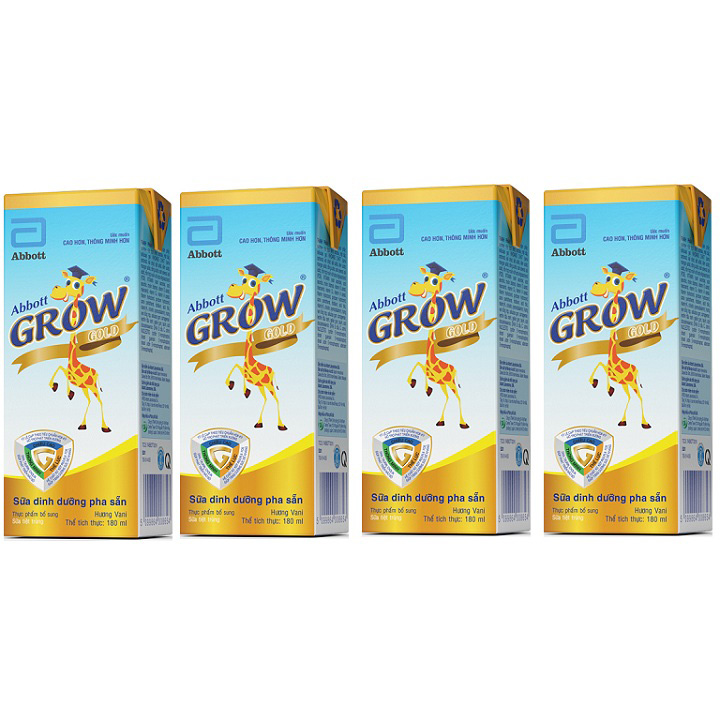 Sữa bột pha sẵn Abbott Grow Gold 180ml, >2 tuổi