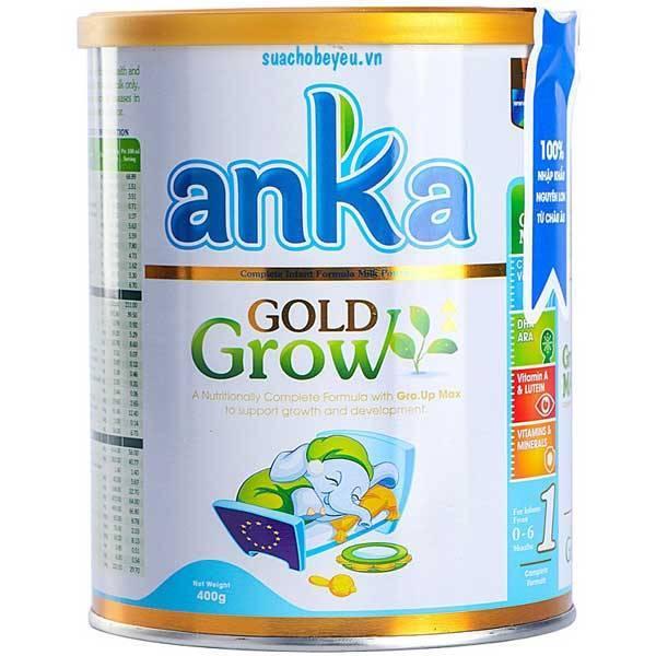 Sữa Anka Gold Grow số 1, Ireland, 0-6 tháng, 400g