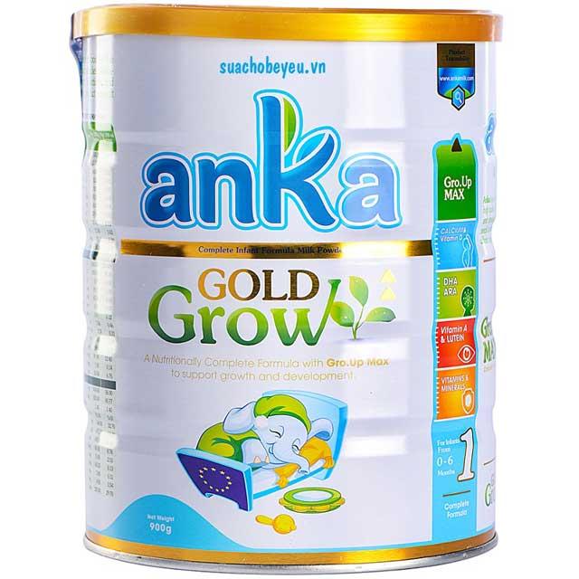 Sữa Anka Gold Grow 1, Ireland, 0-6 tháng, 900g