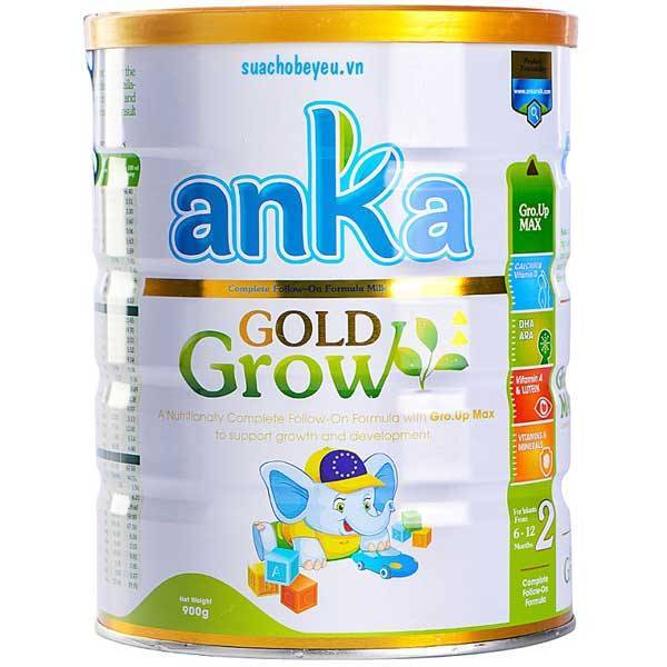 Sữa Anka Gold Grow 2, Ireland, 6-12 tháng, 900g