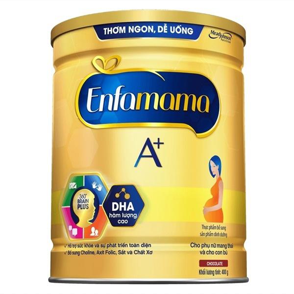 Sữa Enfamama Hương Socola, Mead Johnson, 400g