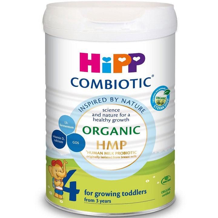 Sữa HiPP Junior Combiotic số 4, lon 800g, trên 3 tuổi