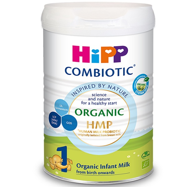 Sữa Hipp Combiotic số 1 lon 800g, 0-6 tháng tuổi