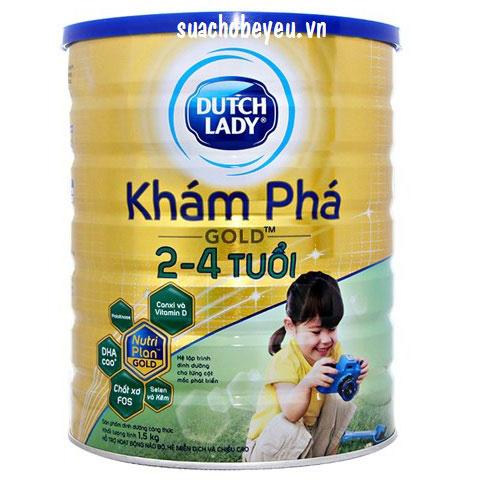 Sữa Cô Gái Hà Lan Khám phá Gold, 2-4 tuổi, 1.5kg