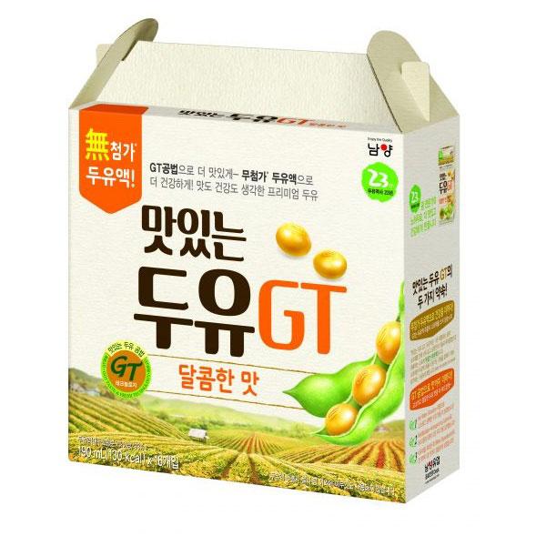 Sữa Đậu Nành NamYang Hàn Quốc, 16 hộp 190ml