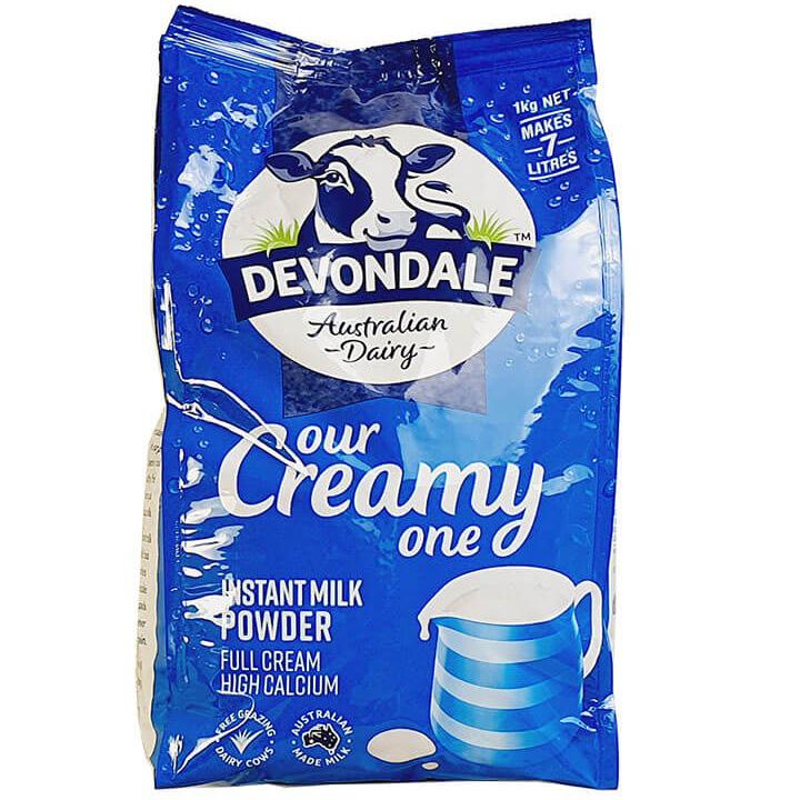 Sữa Nguyên Kem Úc Devondale Dạng Bột 1kg