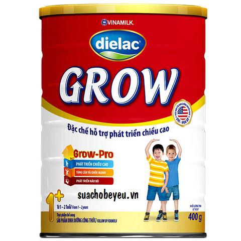 Sữa bột Dielac Grow 1+,  Vinamilk, 1-2 tuổi, 900g