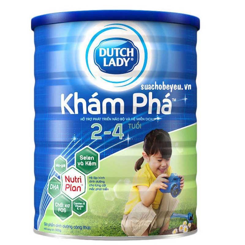 Sữa Cô Gái Hà Lan Khám phá, 2-4 tuổi, lon 1,5kg