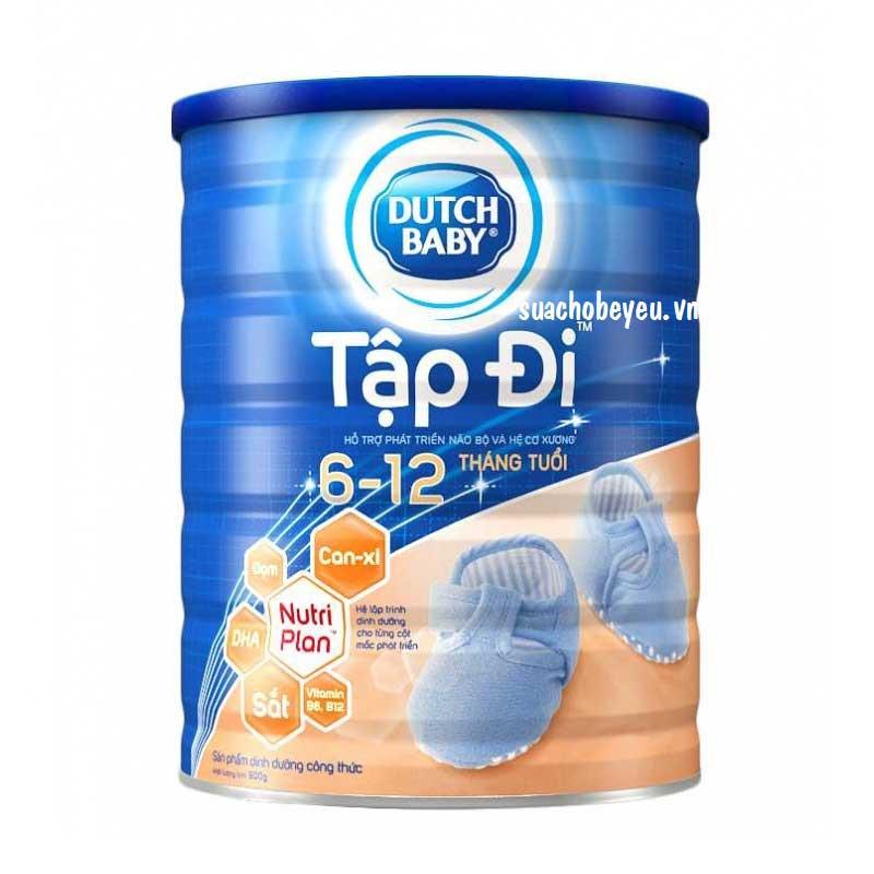 Sữa bột Cô gái Hà Lan Tập Đi, 6-12 tháng, 900g