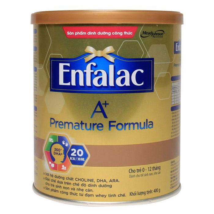 Sữa Enfalac Premature A+, Mead Johnson, 400g