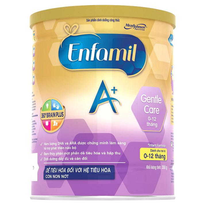 Sữa Enfamil Gentle Care, trẻ từ 0-12 tháng, 350g
