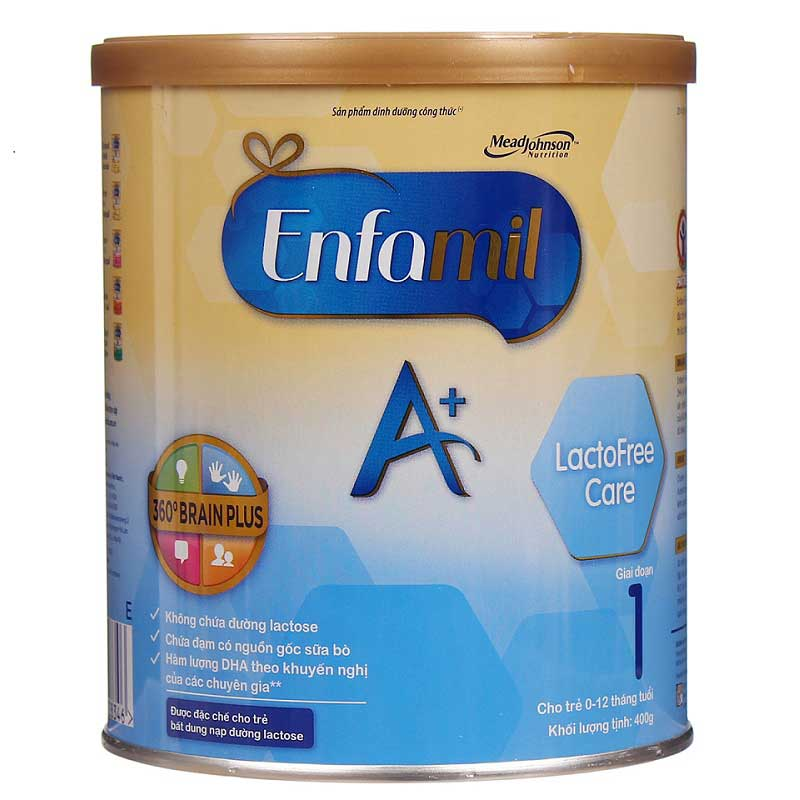 Sữa Enfamil A+ Lactofree Care, Mead Johnson, 400g