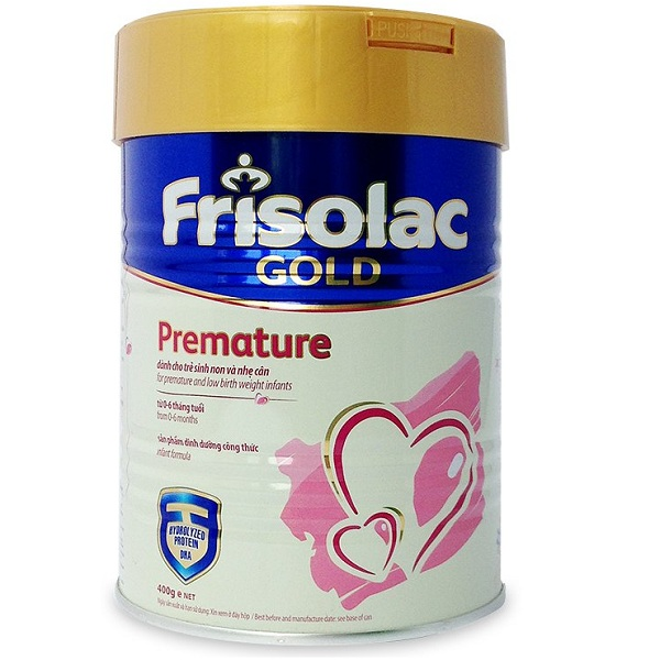 Sữa Frisolac Gold Premature Trẻ Sinh Non, 400g