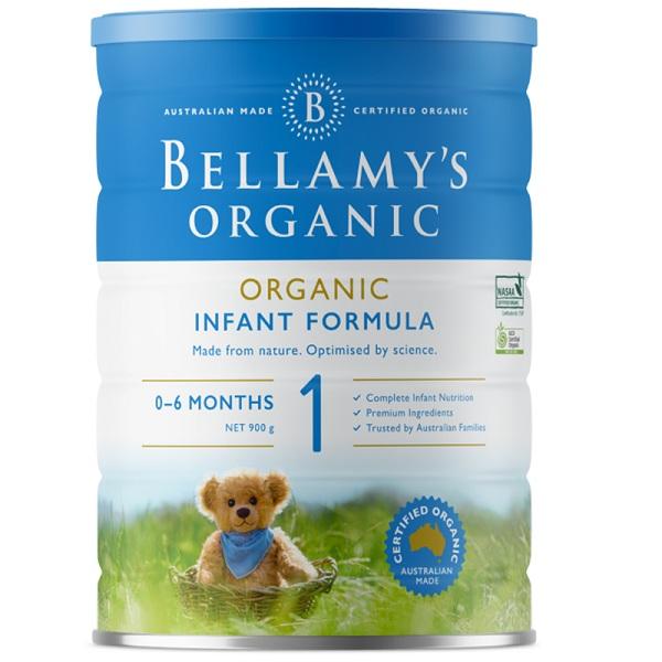 Sữa Bellamys Organic Úc số 1 cho trẻ 0-6 tháng tuổi