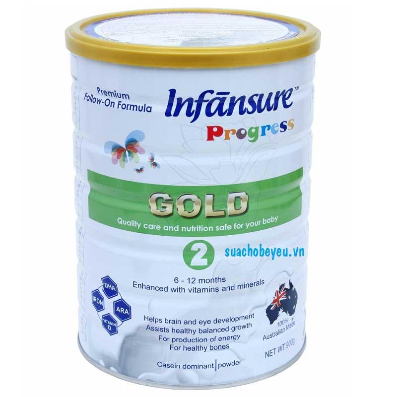Sữa Infansure Gold số 2, nhập khẩu Úc, 400g