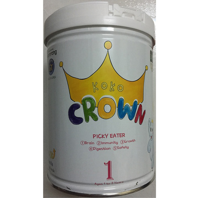 Sữa Koko Crown cho trẻ biếng ăn 1-2 tuổi, 800g