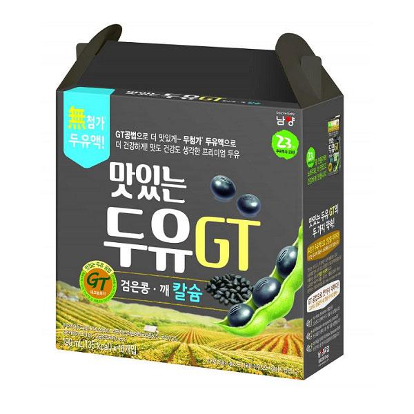 Sữa đậu đen, Mè đen NamYang, 16 hộp 190ml