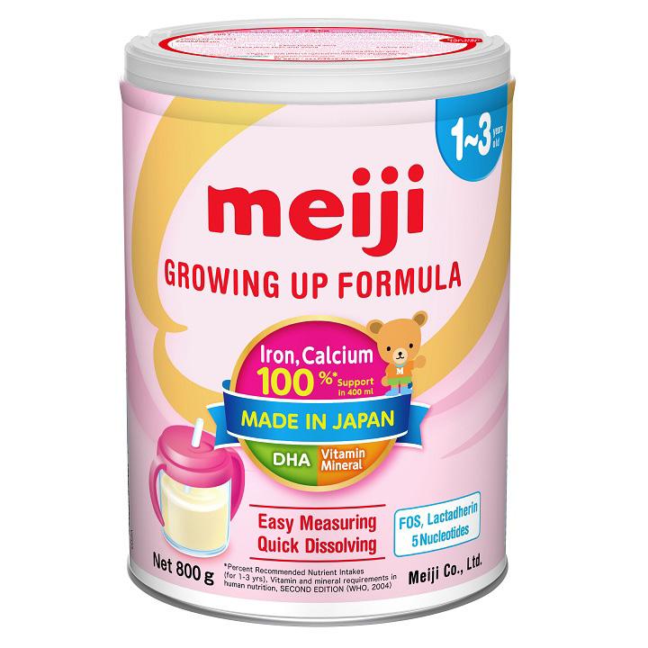 Sữa nhập khẩu Meiji Growing Formula, 1-3 tuổi