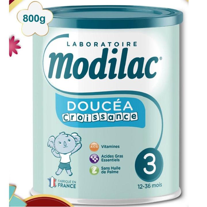 Sữa Modilac Croissance 3, cho trẻ 1-3 tuổi, lon 800g