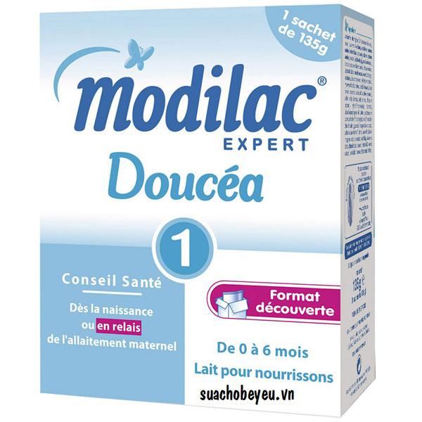 Sữa Modilac Expert Doucéa 1 135g, trẻ 0-6 tháng
