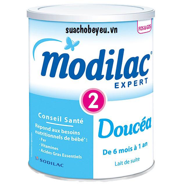 Sữa Modilac Expert Doucéa 2, trẻ 6-12 tháng, 400g