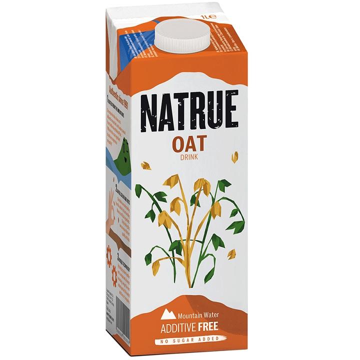 Thùng Sữa Yến mạch nguyên chất Natrue Oat drink hộp 1L