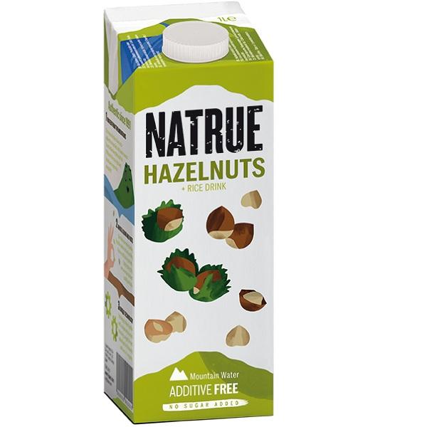 Sữa hạt Natrue Hazelnuts Rice hạt dẻ và gạo hộp 1L