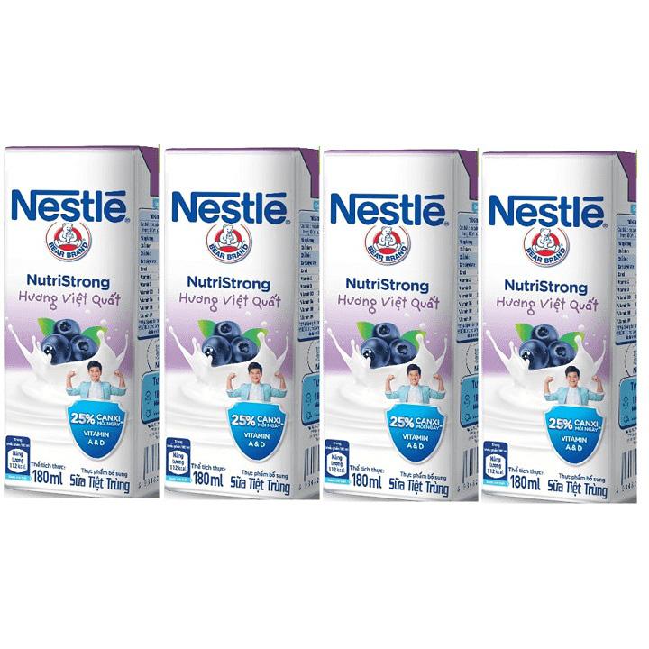Sữa nước Nestle Việt Quốc NutriStrong 48 hộp 180ml