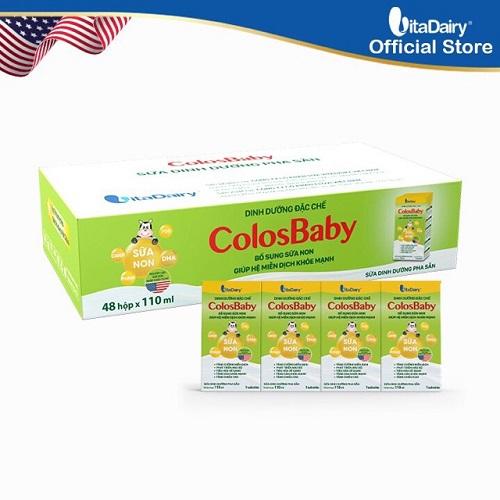 Sữa non Colosbaby pha sẵn 48 hộp 180ml, trên 1 tuổi
