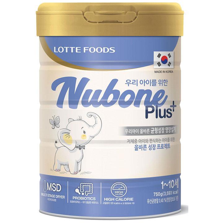 Sữa Nubone Plus+ cho trẻ chậm tăng cân, 1-10 tuổi