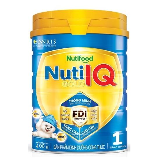 Nuti IQ Gold Step 1, Nuti Food, 400g, 0-6 tháng