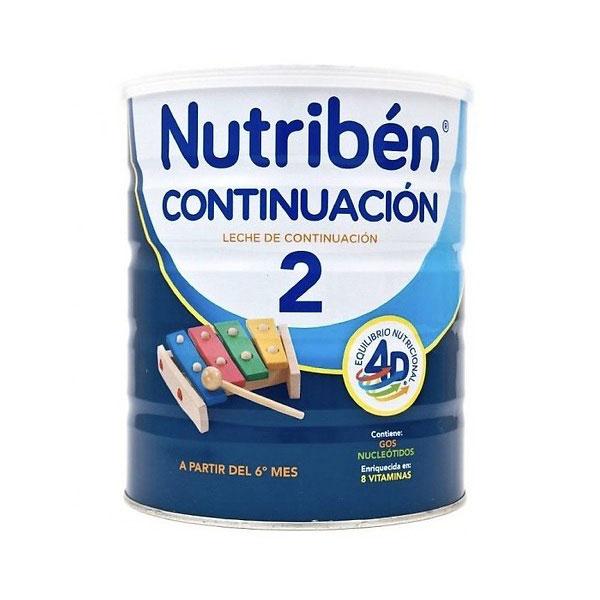 Sữa Nutribén nhập khẩu số 2, cho trẻ 6-12 tháng, 400g