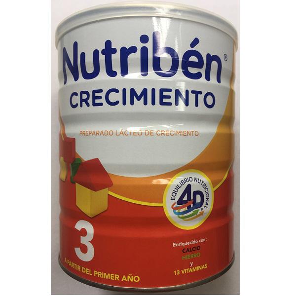 Sữa Nutribén nhập khẩu số 3, cho trẻ 1-3 tuổi, 800g