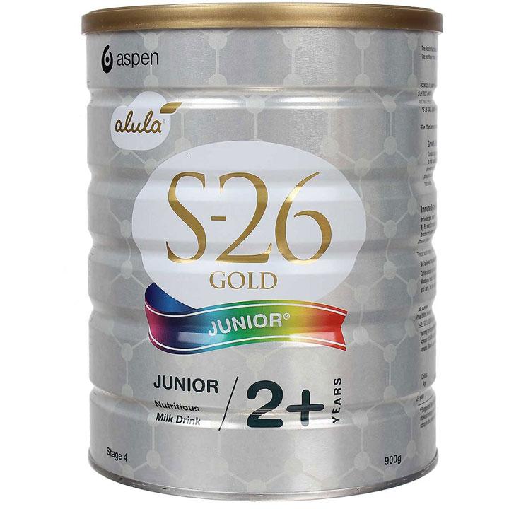 Sữa S26 Gold Junior 4 của Úc, 900g, trẻ trên 2 tuổi