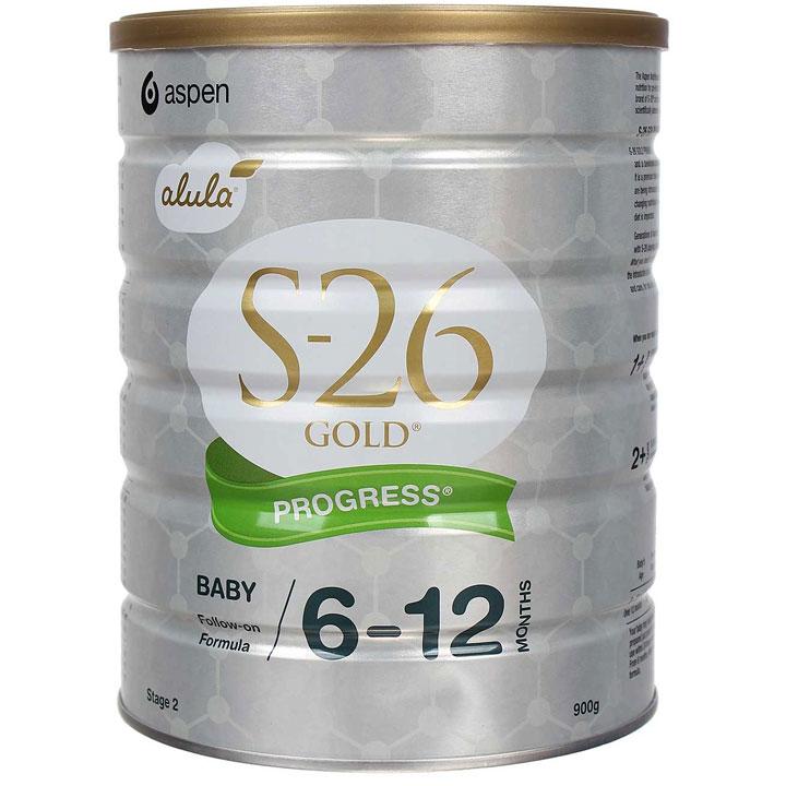Sữa S26 Gold Progress số 2 Úc cho trẻ 6-12 tháng