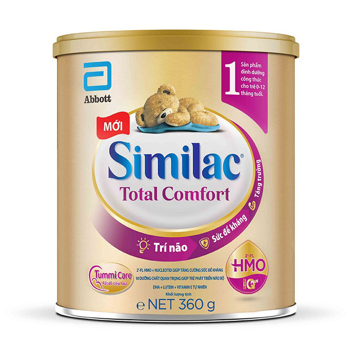 Similac Total Comfort 1, Abbott, 0-12 tháng, 360g