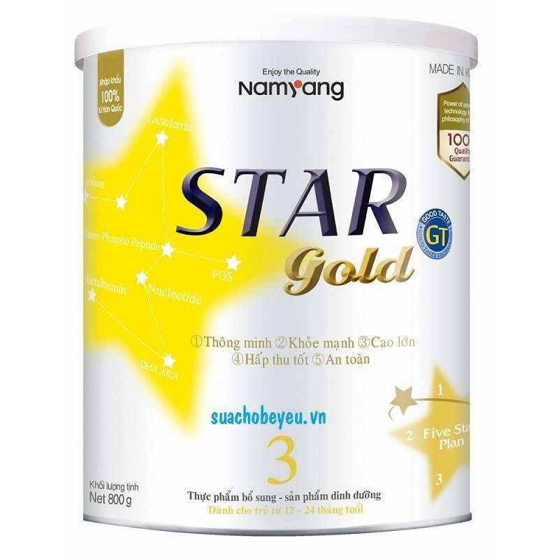 Star Gold 3 - Namyang Hàn Quốc, 1 - 2 tuổi, 800g