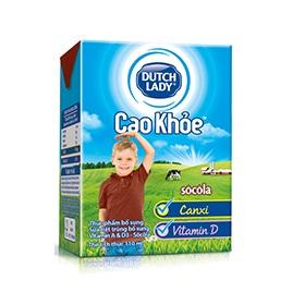 Sữa Cô Gái Hà Lan Cao Khoẻ Socola hộp 110ml
