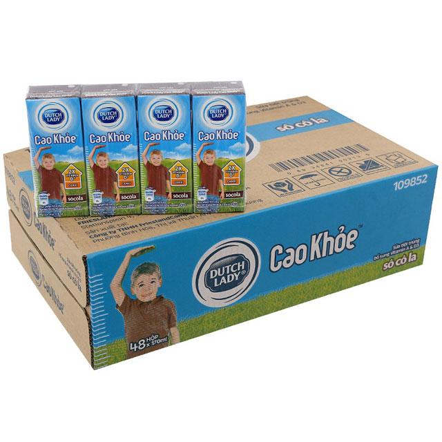 Sữa Cô Gái Hà Lan Cao Khoẻ vị Socola hộp 170ml