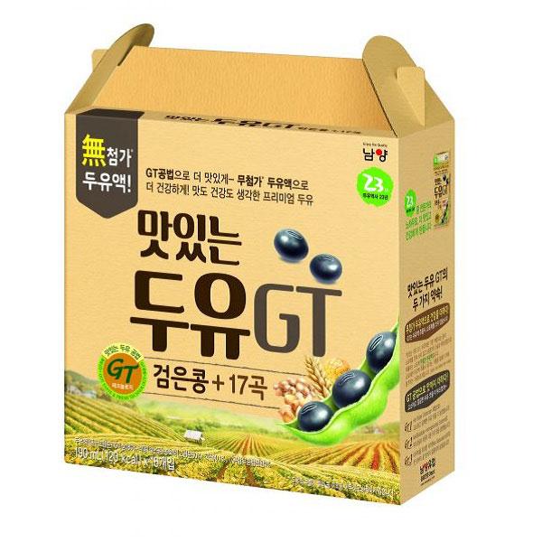 Sữa đậu nành đen và 17 Ngũ Cốc, 16 hộp 190ml