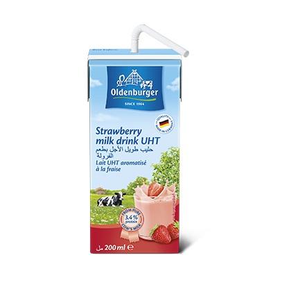 Thùng sữa tươi Đức Oldenburger Dâu 200ml