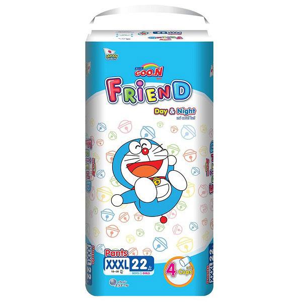 Tã quần Goon Friend Size XXXL 22 miếng, 18-30kg