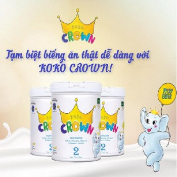 Sữa Koko Crown Picky Eater 2 trẻ biếng ăn từ 2 tuổi