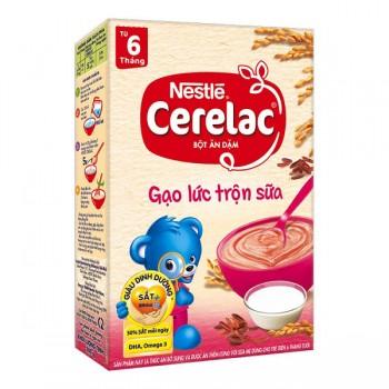 Bột Ăn Dặm Cerelac Gạo Lức Trộn Sữa > 6 tháng