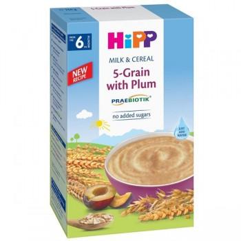Bột ăn dặm Hipp ngũ cốc với mận tây 5-Grain with Prune