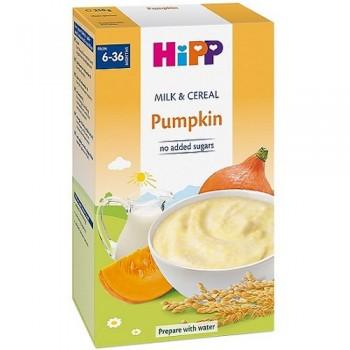 Bột Hipp rau củ bí đỏ và sữa dinh dưỡng, hộp 250g