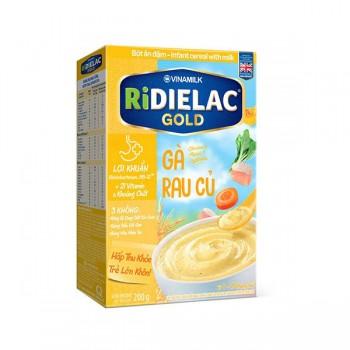 Bột Ăn Dặm Ridielac Gold Gà Rau Củ, hộp 200g